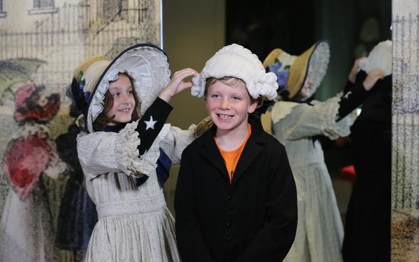 Image: Children dressing up