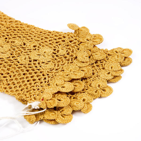 5ff23411d Irish crochet originated in the sixteenth century when nuns in the convent  communities developed its distinctive style and technique in imitation of  ...