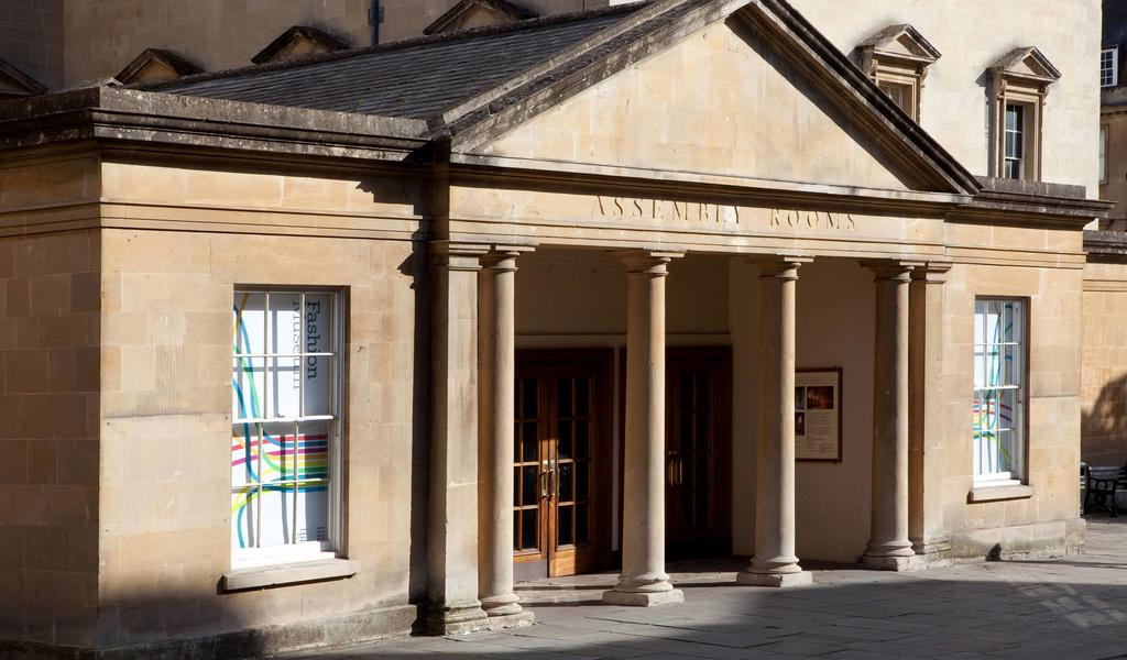 Image: Exterior of the Assembly Rooms
