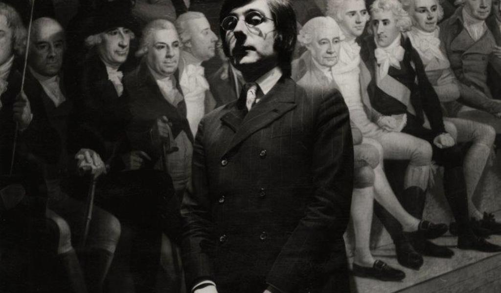 Image: Roy Strong wears suit by Blades 1969, Fashion Museum Bath / Ernestine Carter Archive