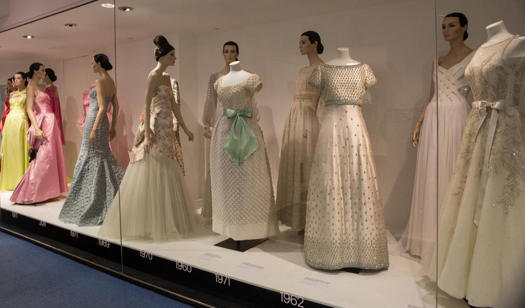 Image: Bellville Sassoon dresses on display