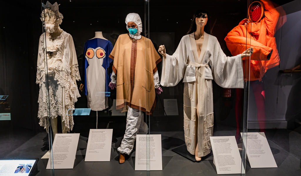 Image: Dress of the Year 2020 display case