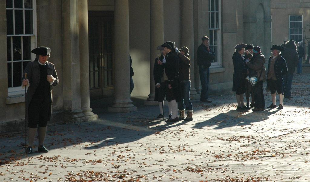 Image: Filming of The Duchess at the Assembly Rooms
