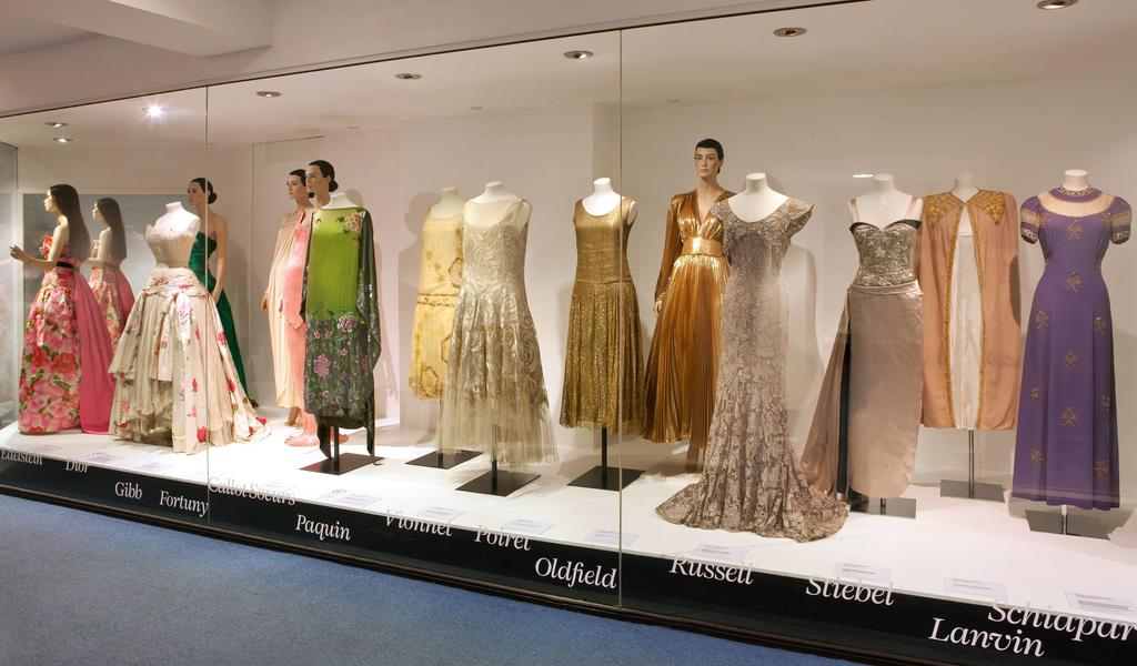Image: Great Names of Fashion display