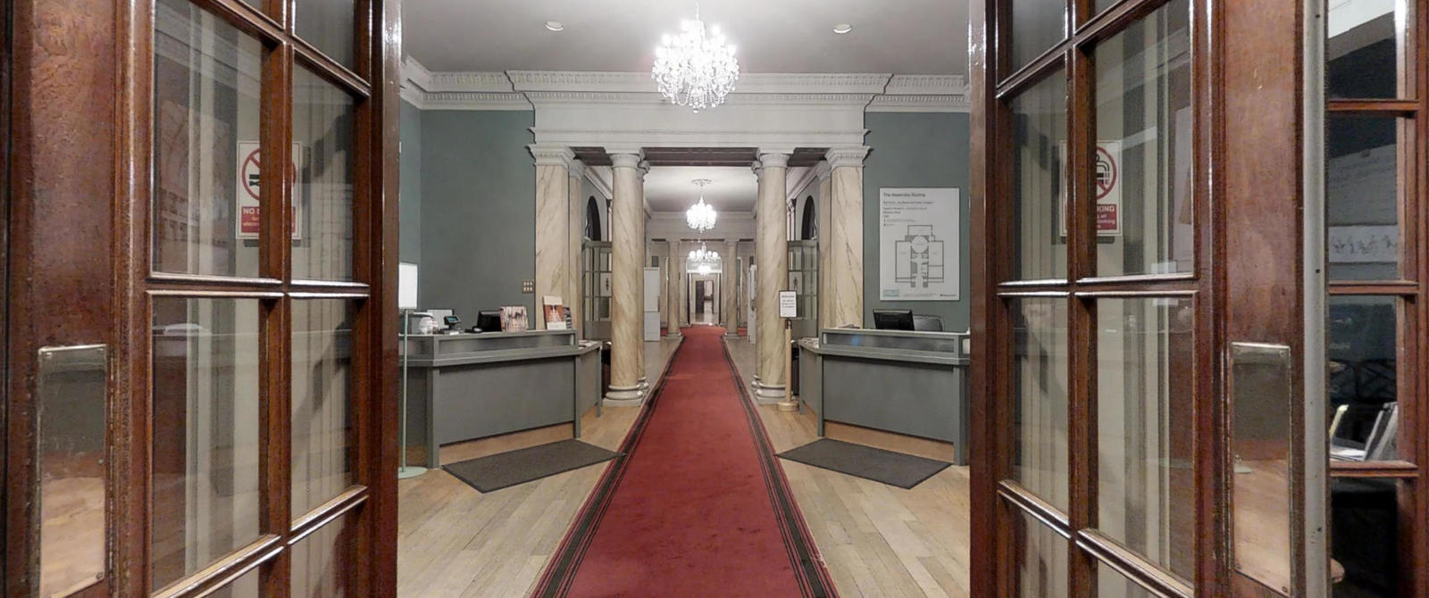 Image: Entrance to the Assembly Rooms