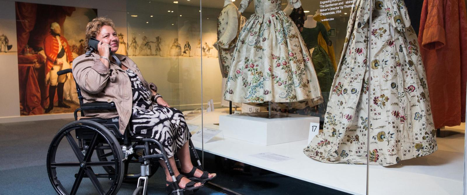 Image: Accessibility at the Fashion Museum
