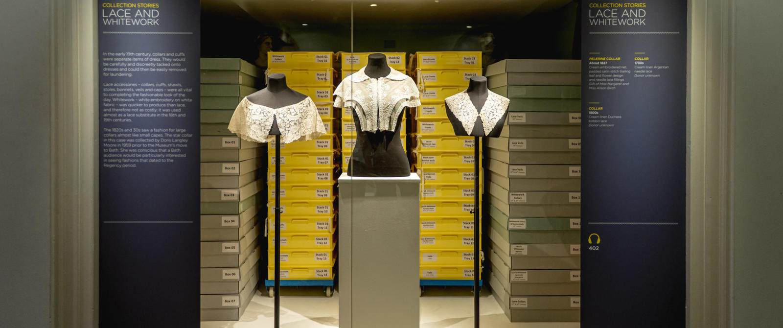 Image: Lace and whitework in Collection Stories