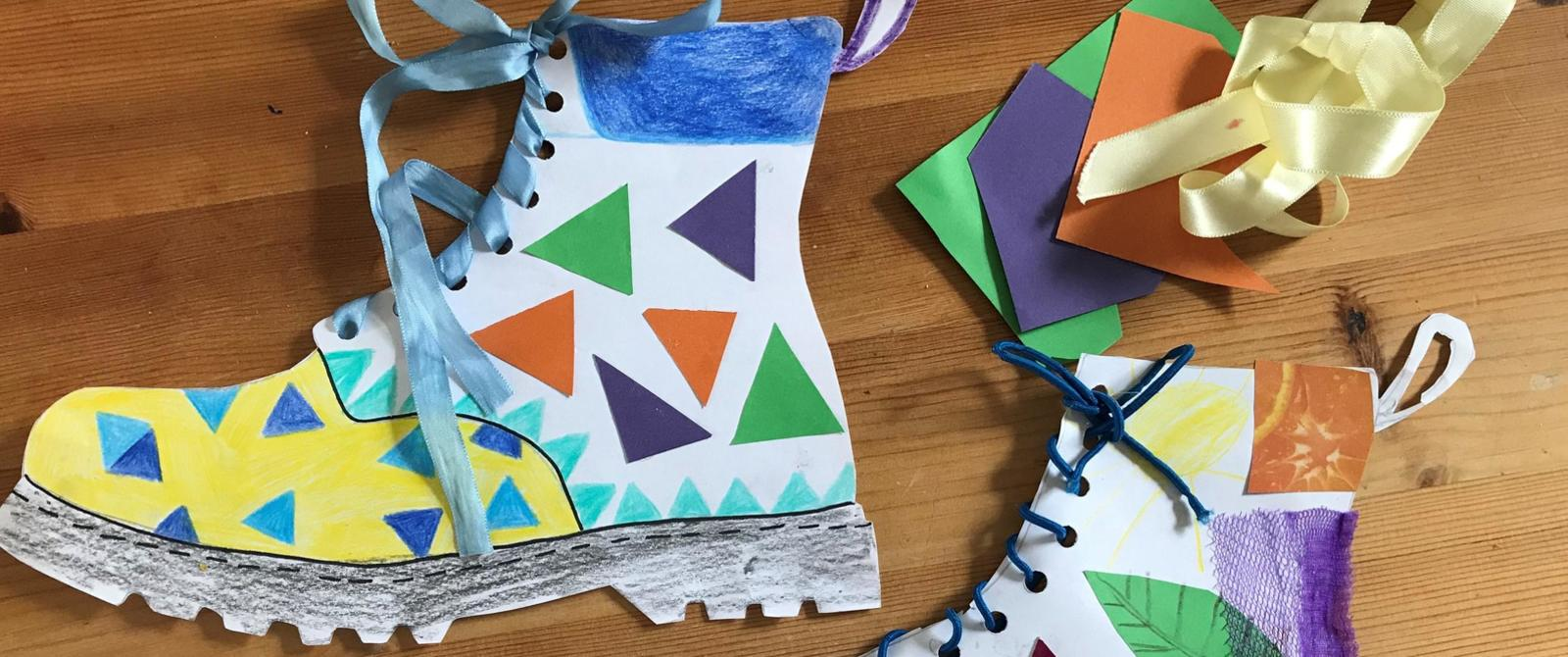 Image: Crafts from a family activity