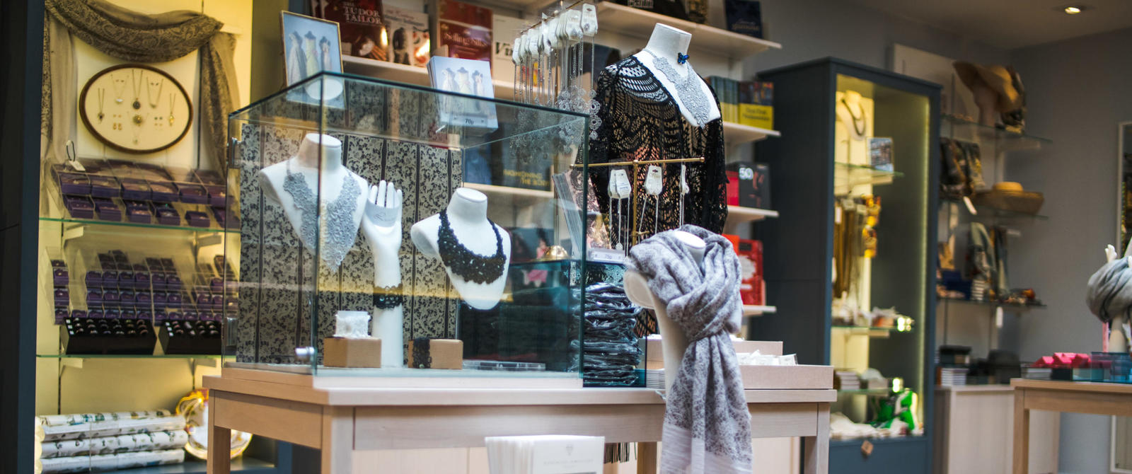 Image: Products in the Fashion Museum shop