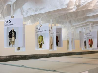 Image: Behind the Scenes at the Fashion Museum
