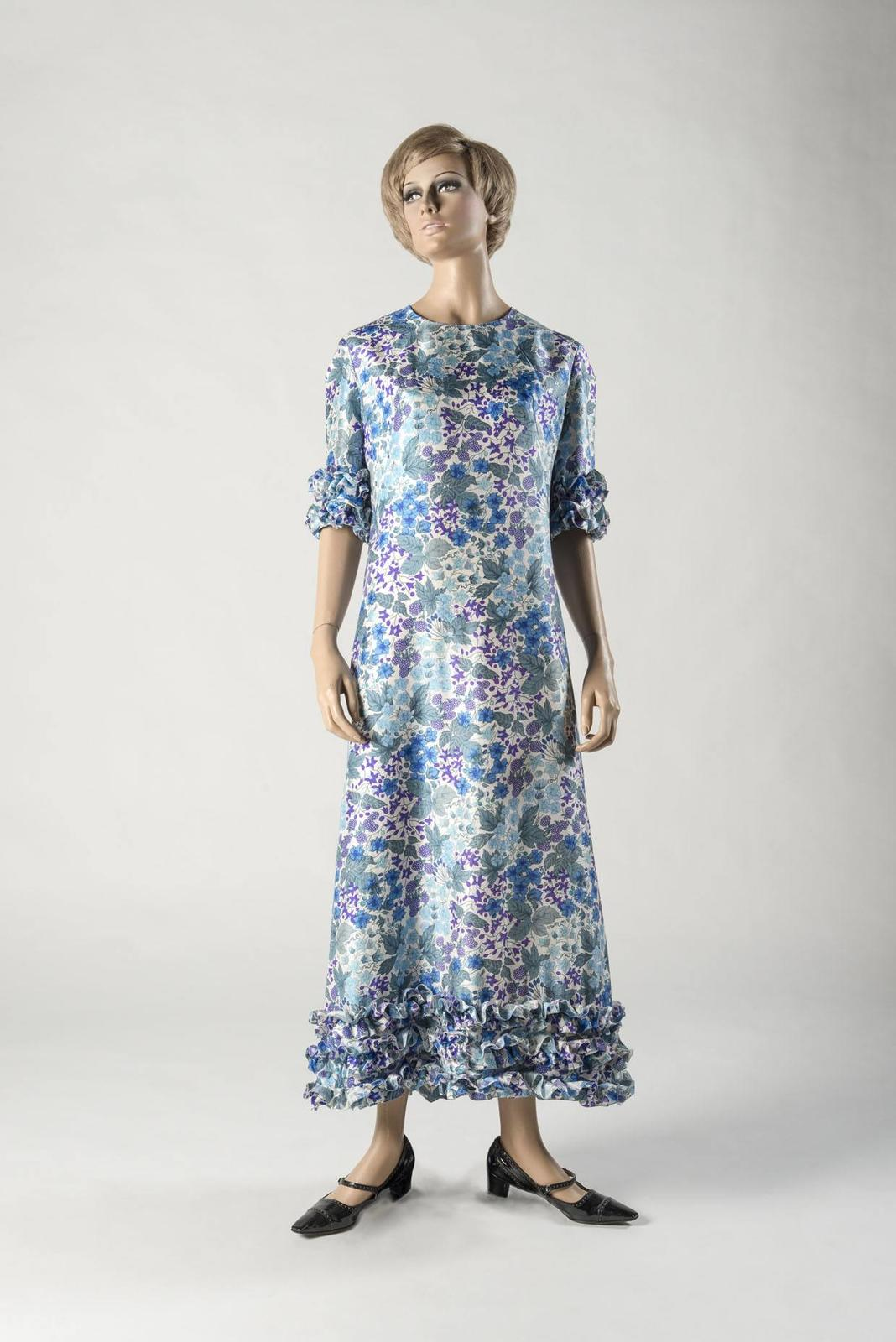 Dress Of The Year Fashion Museum Kate Embroidery Blouse In Blue Beatrice Clothing Image 1964