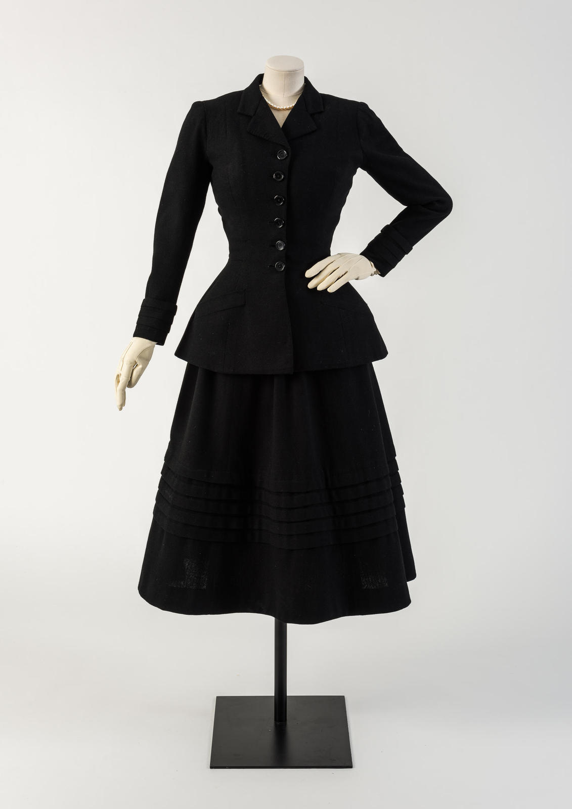 Black wool dress uk