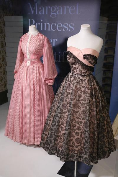 Image: Dresses worn by Princess Margaret