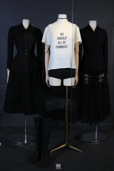 Image: Dress of the Year 2017 on display in the Fashion Museum