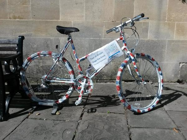 Image: Bath Bike Trail outside the Assembly Rooms