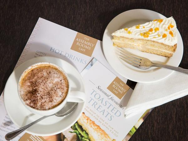 Image: Refreshments at the Assembly Rooms café