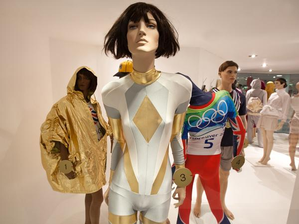 Image: Gold and silver bodysuit, Spring/Summer 2011, By Pam Hogg