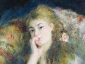 Image: Pierre-Auguste Renoir (1841-1919), A Young Woman Seated (detail), 1876-7, oil on canvas. Credit: The Barber Institute of Fine Arts, University of Birmingham