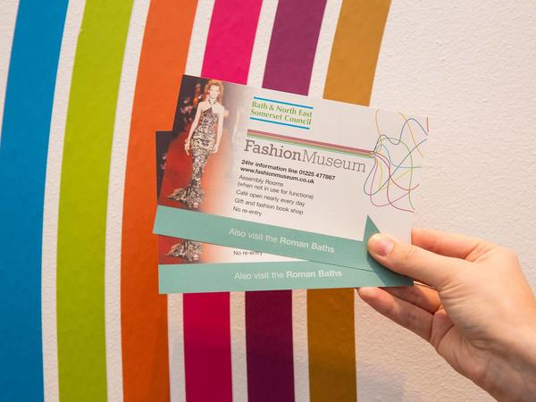 Image: Fashion Museum ticket